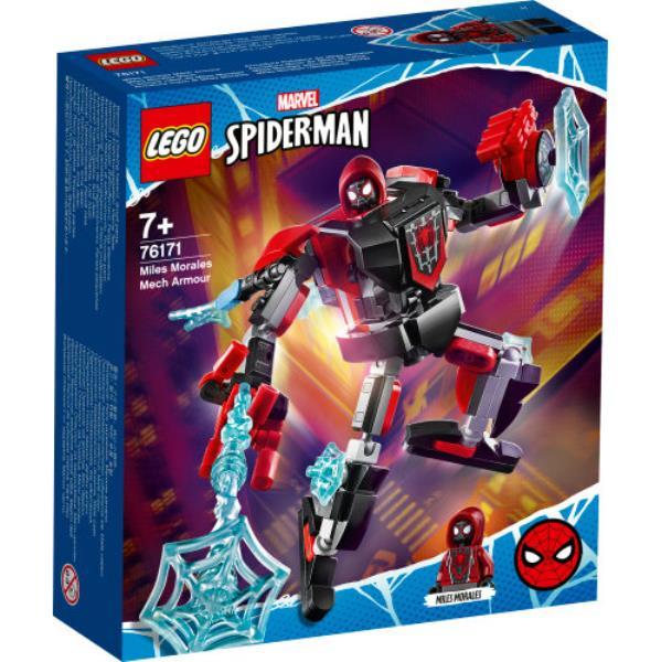 LEGO 76171 SUPER HEROES Opancerzony mech Milesa Moralesa p4