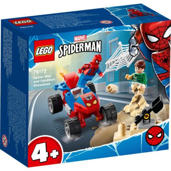 LEGO 76172 SUPER HEROES Pojedynek Spider-Mana z Sandmanem p4
