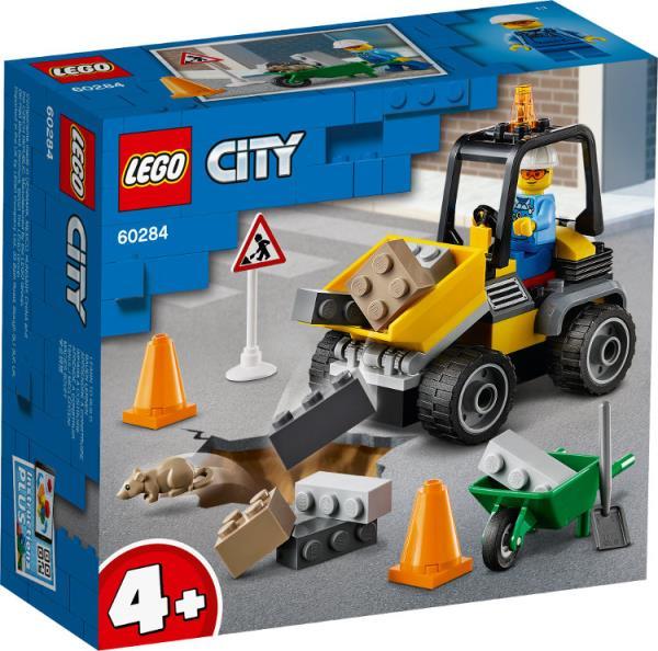 LEGO 60284 CITY Pojazd do robót drogowych p4