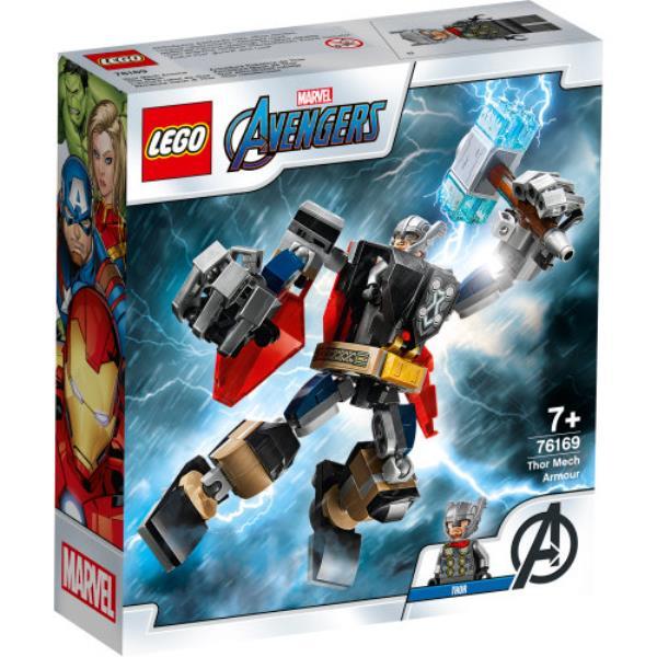 LEGO 76169 SUPER HEROES Opancerzony mech Thora p4