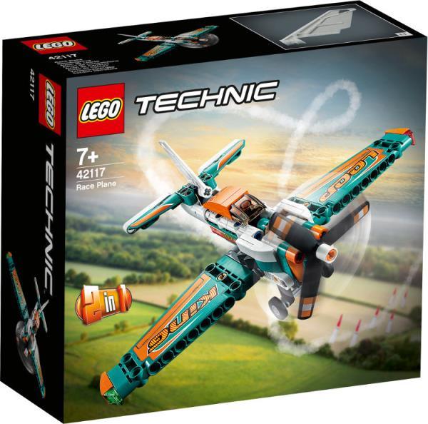 LEGO 42117 TECHNIC Samolot wyścigowy p4