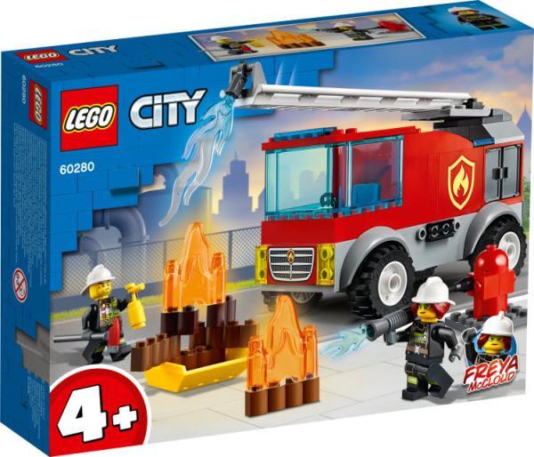 LEGO 60280 CITY Wóz strażacki z drabiną p6