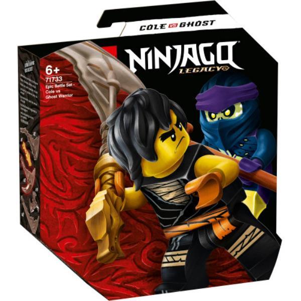 LEGO 71733 NINJAGO Epicki zestaw bojowy — Cole kontra Wojownik-duch p6