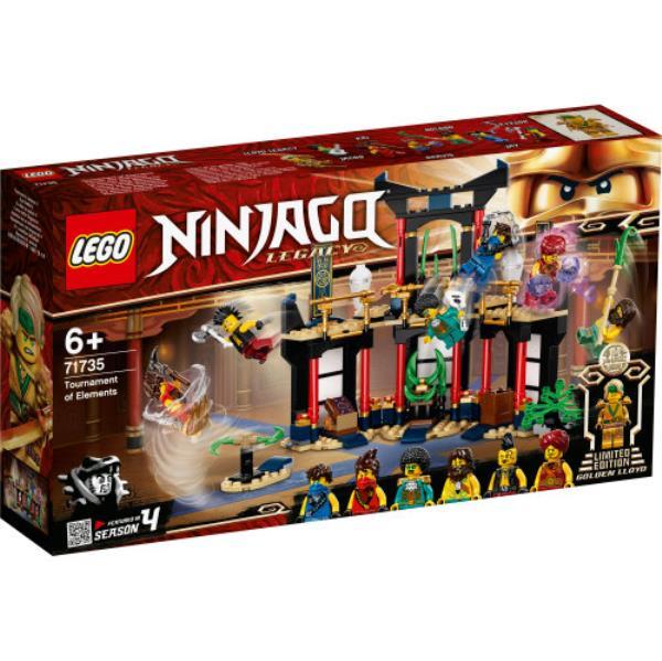 LEGO 71735 NINJAGO Turniej Żywiołów p4
