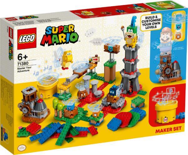 LEGO 71380 SUPER MARIO Mistrzowskie przygody - zestaw twórcy p3