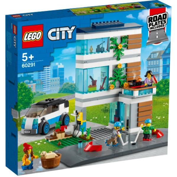 LEGO 60291 CITY Dom rodzinny p4