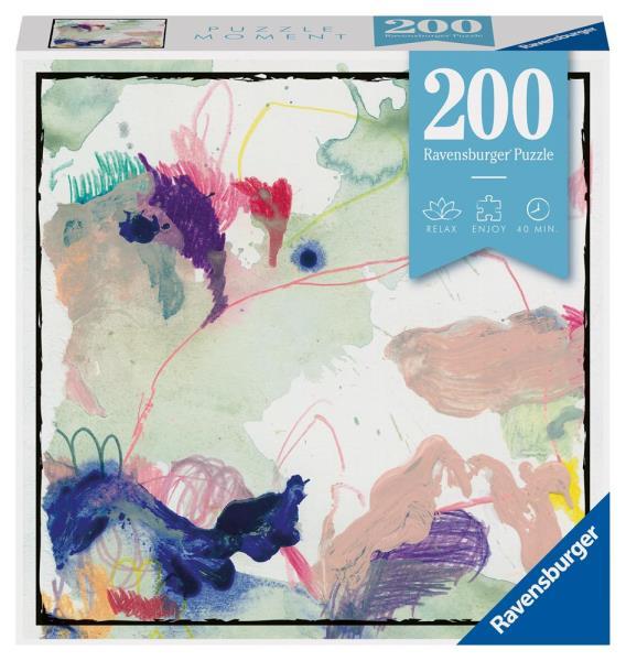 Puzzle 200el Moment: Abstrakcja 129591 RAVENSBURGER
