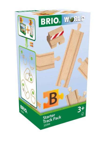 BRIO 33394 Startowy zestaw torów