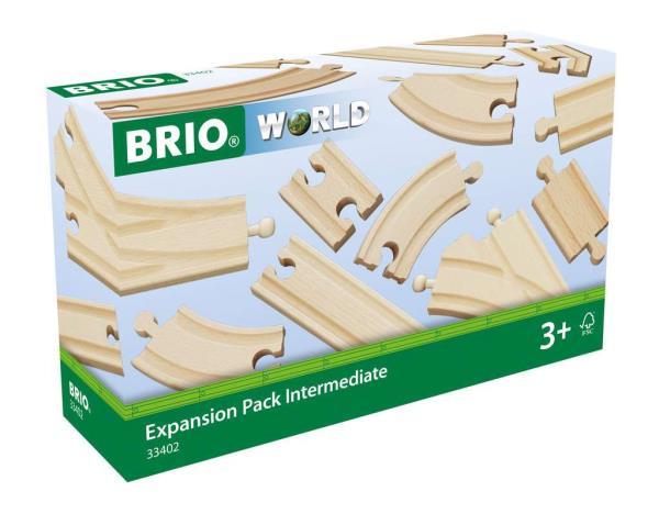 BRIO 33402 Średni zestaw torów