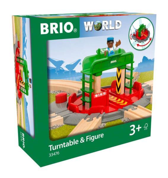 BRIO 33476 Obrotnica z figurką