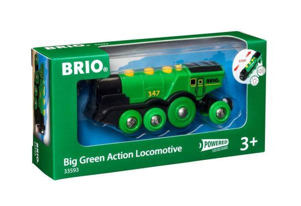 BRIO 33593 Lokomotywa klasyczna zielona
