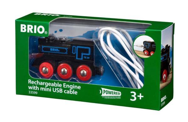 BRIO 33599 Lokomotywa klasyczna z USB