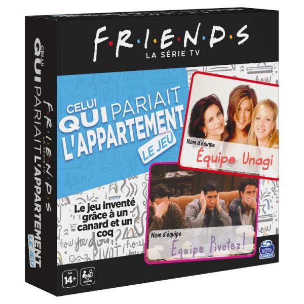 Stracić mieszkanie Friends Przyjaciele gra 6061025