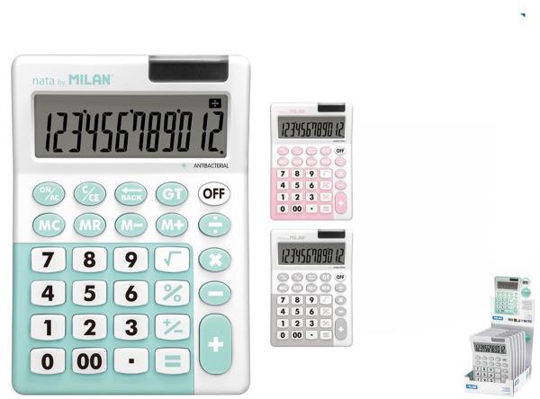 Kalkulator Antibacterial 12poz. 151812IBG MILAN