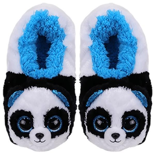 TY Fashion pantofle BAMBOO - panda rozmiar S (28-31cm)