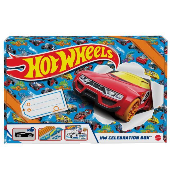 Hot Wheels Samochodziki Zestaw prezentowy GWN96 MATTEL