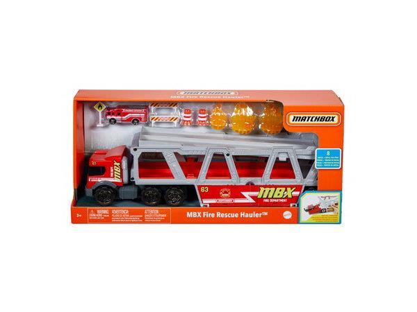 MATCHBOX Transporter Wóz strażacki GWM23 p2 MATTEL