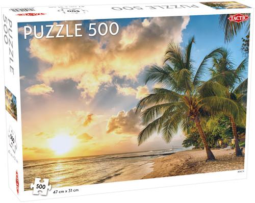 Puzzle Plaża 500
