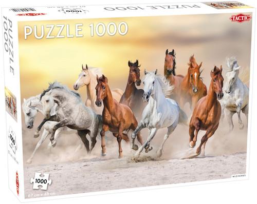 Puzzle Dzikie konie 1000