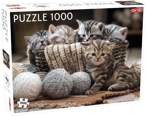 Puzzle Małe kotki 1000