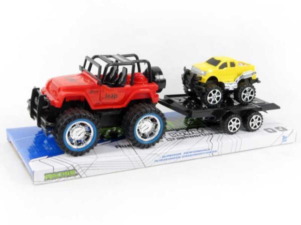 Jeep z przyczepą BA0009