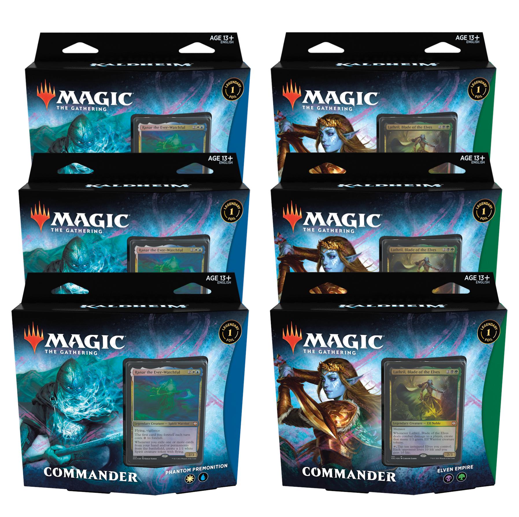 Magic: The Gathering: Kaldheim - Commander Deck Display (6)
