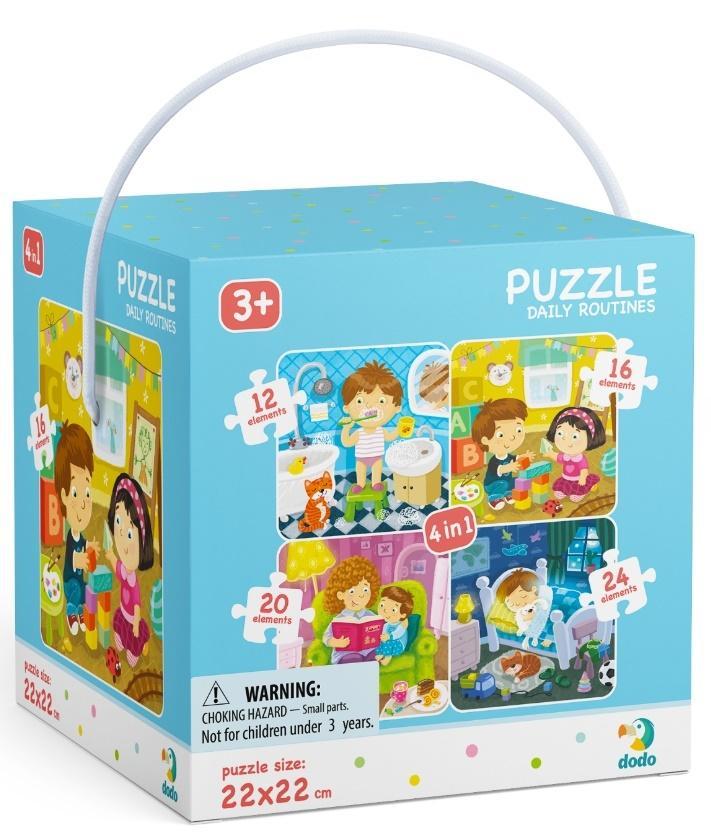 Puzzle 4w1 Mój dzień