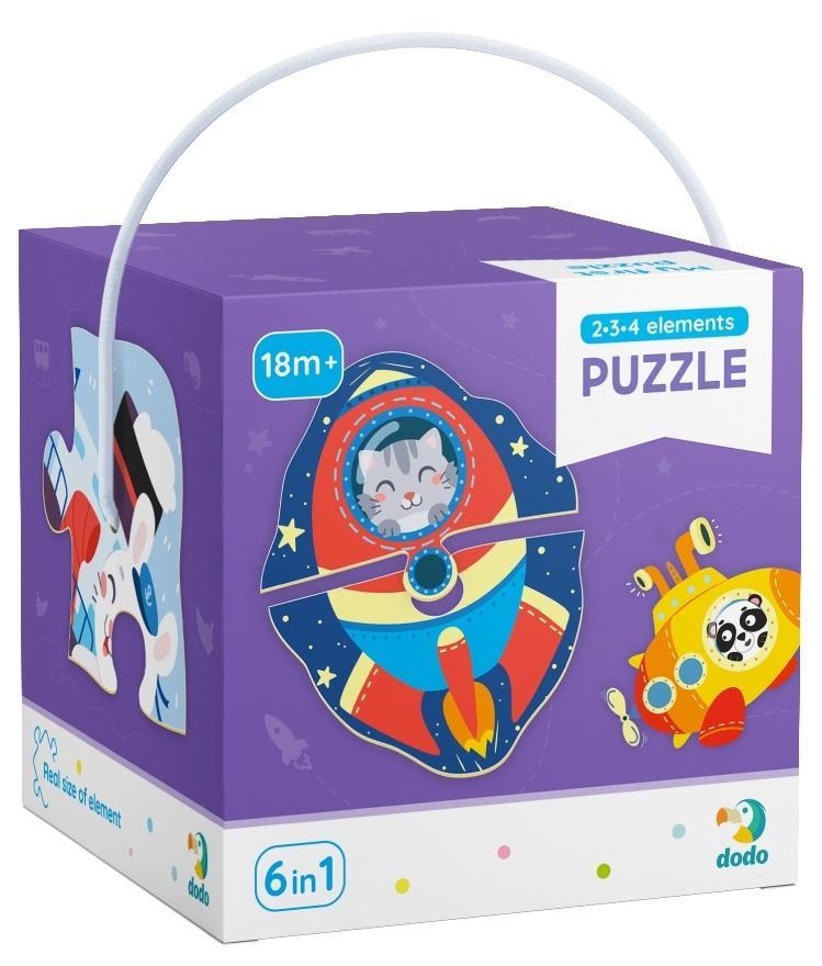 Puzzle 2-3-4 Transport