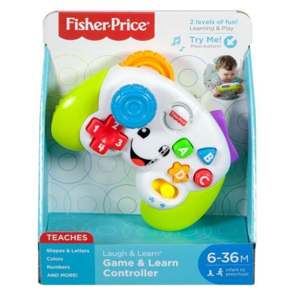Fisher-Price Ucz się i śmiej! Wesoły padzik malucha FWG20 p4 MATTEL