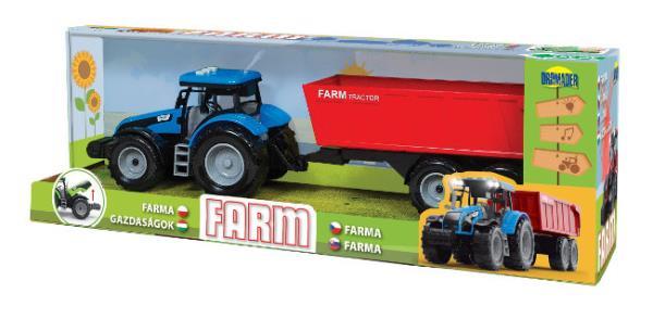 Traktor z dźwiękami w pudełku 1235618