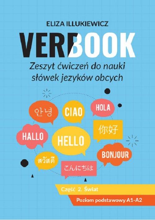 Verbook Zeszyt ćwiczeń do nauki słówek języków obcych Część 2 Świat