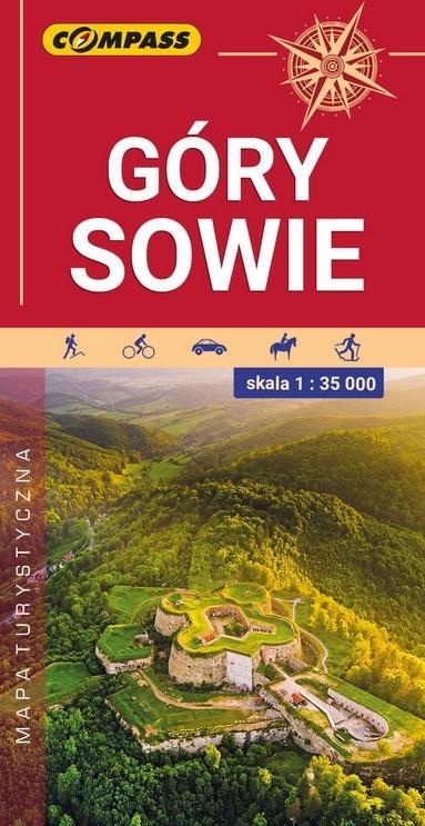 Mapa turystyczna Góry Sowie 1:35 000 wyd.2020