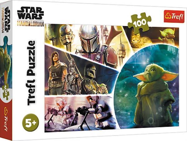 Puzzle 100el Baby, Yoda 16413 TREFL