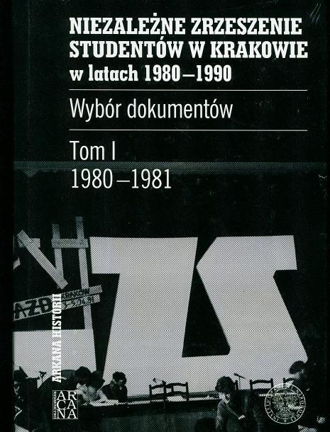 Niezależne Zrzeszenie Studentów w Krakowie T.1
