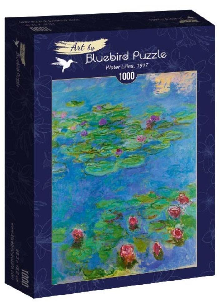 Puzzle 1000 Lilie wodne, Claude Monet1917