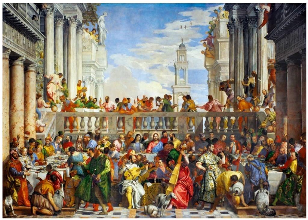 Puzzle 1000 Wesele w Kanie Galilejskiej