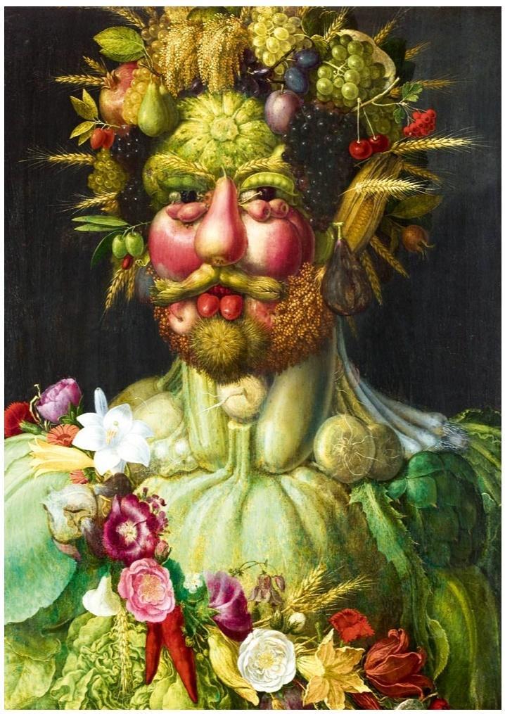 Puzzle 1000 Rudolf II Habsburga jako Vertumnus