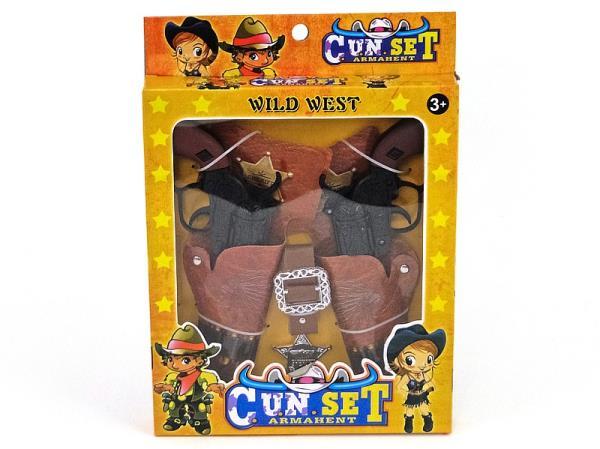 Zestaw kowbojski w pudełku 482067 ADAR
