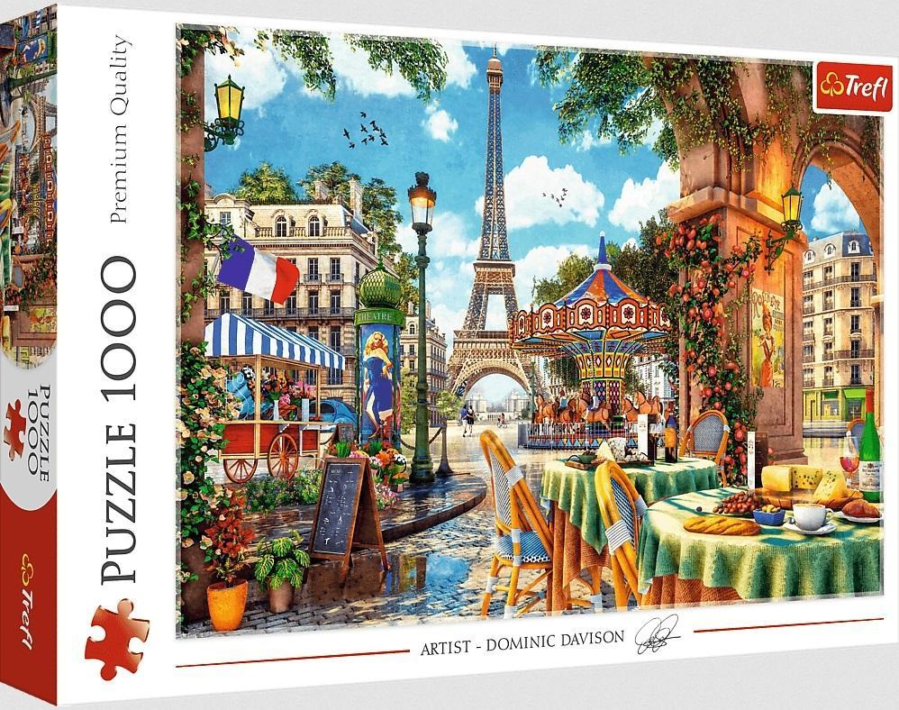 Puzzle 1000el Paryski poranek 10622 Trefl