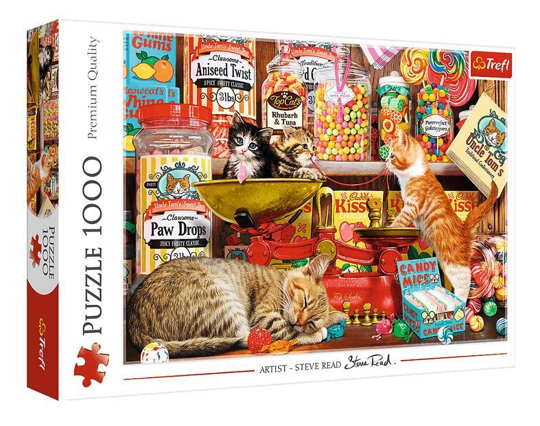 Puzzle 1000el Kocie słodkości 10630 Trefl