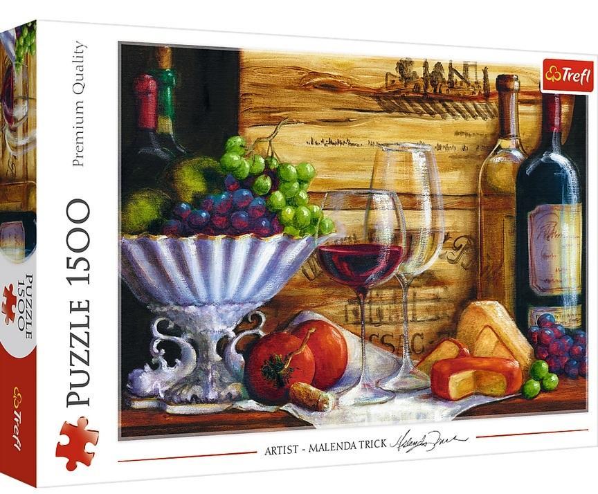 Puzzle 1500el W winnicy 26174 TREFL