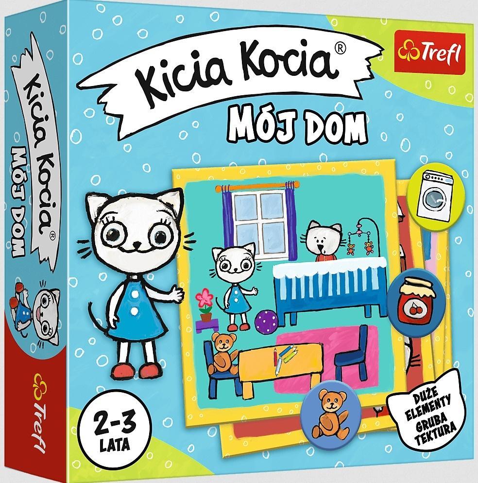 Kicia Kocia Mój dom TREFL