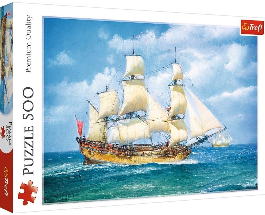 Puzzle 500 Morska podróż TREFL
