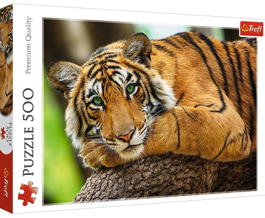 Puzzle 500 Portret tygrysa TREFL