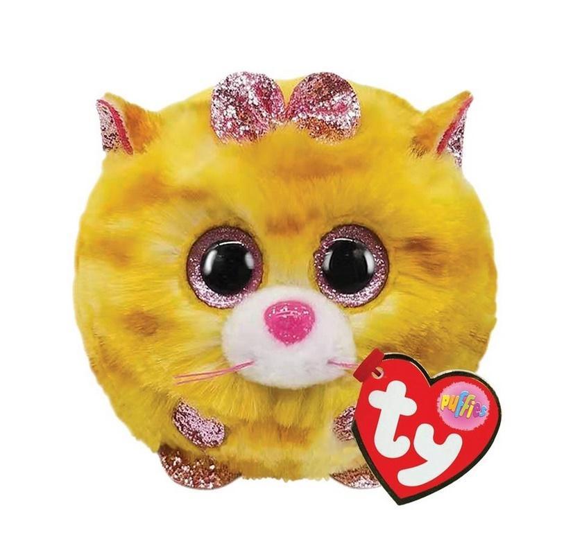 Ty Puffies Tabitha - żółty kot