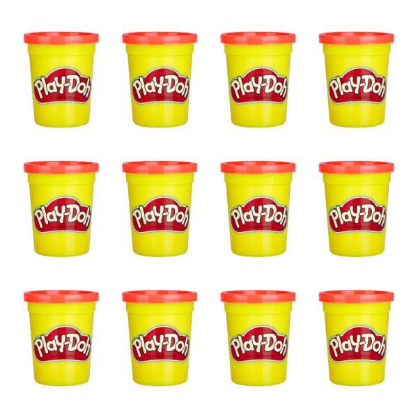 Play-Doh Ciastolina Tuby uzupełniające 12-pak Czerwony E4826 p7 HASBRO