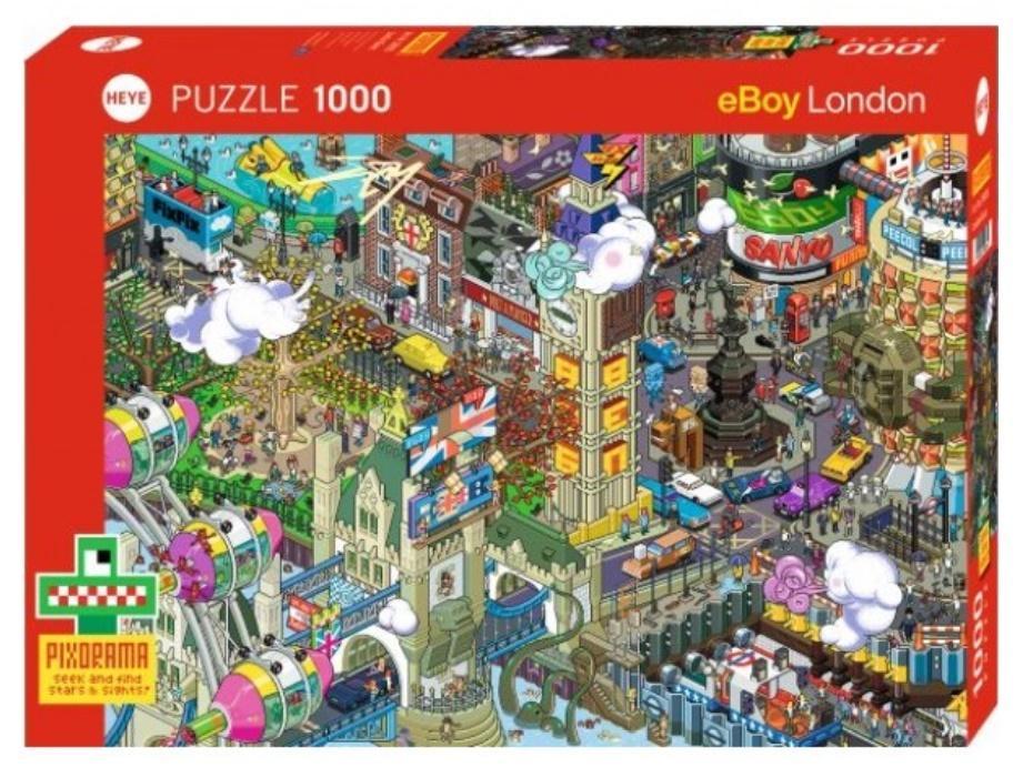 Puzzle 1000 Londyn Ques - Pixorama