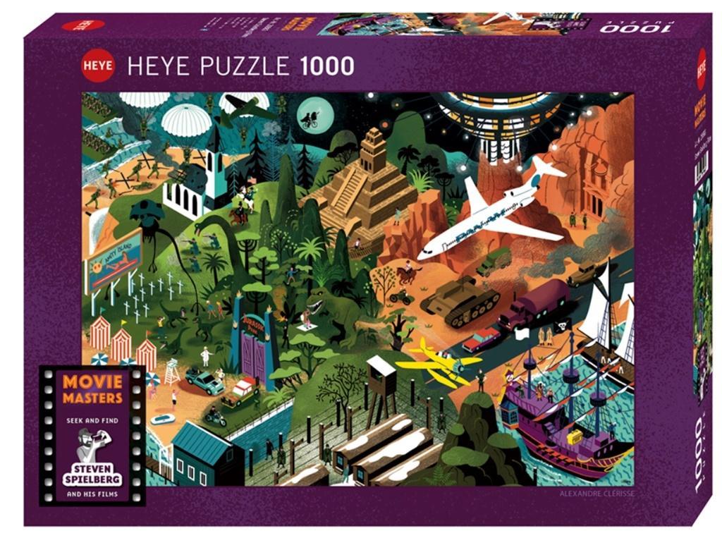 Puzzle 1000 Filmy Stevena Spilberga