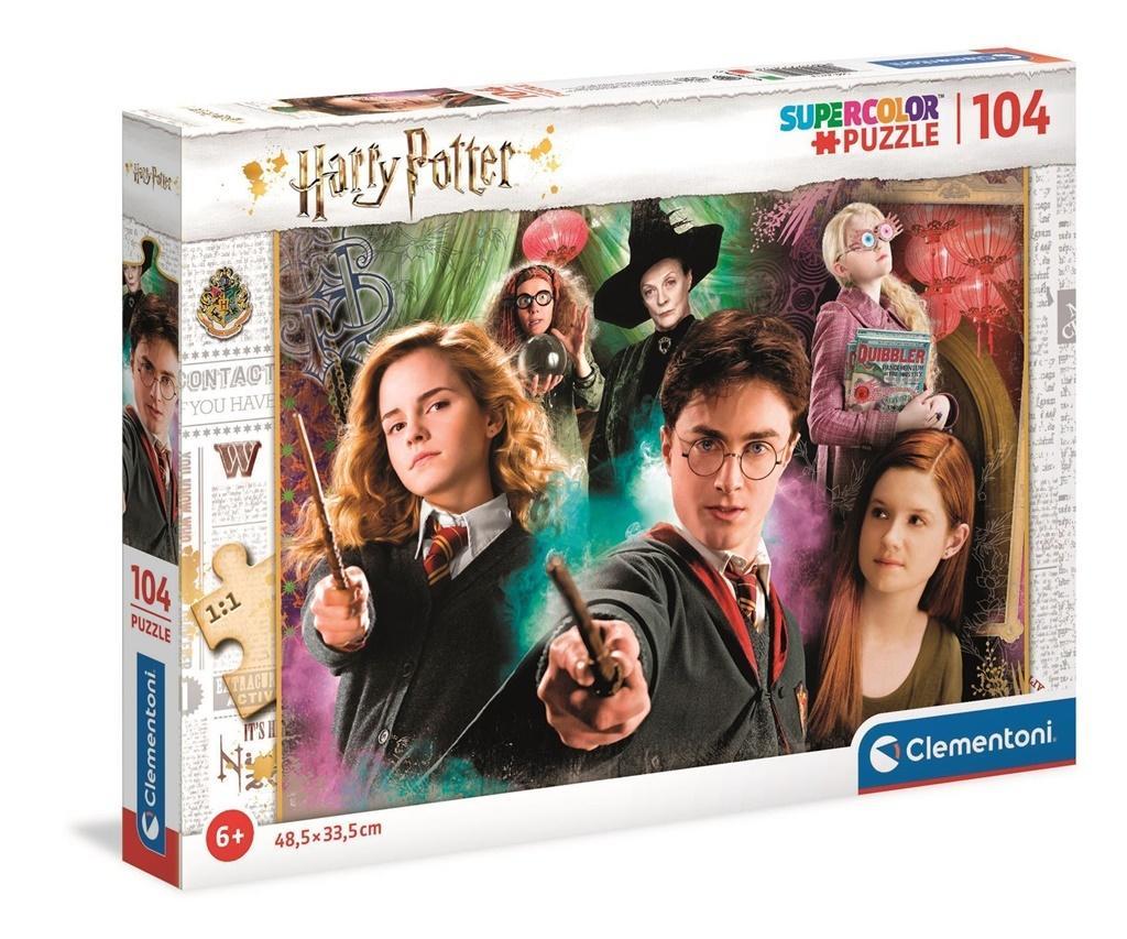 Puzzle 104 Super Kolor Harry Potter