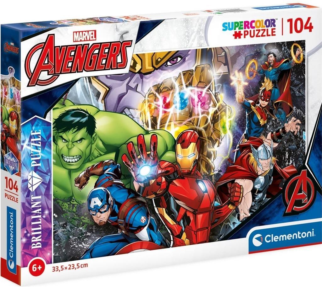Puzzle 104 Brilliant Marvel